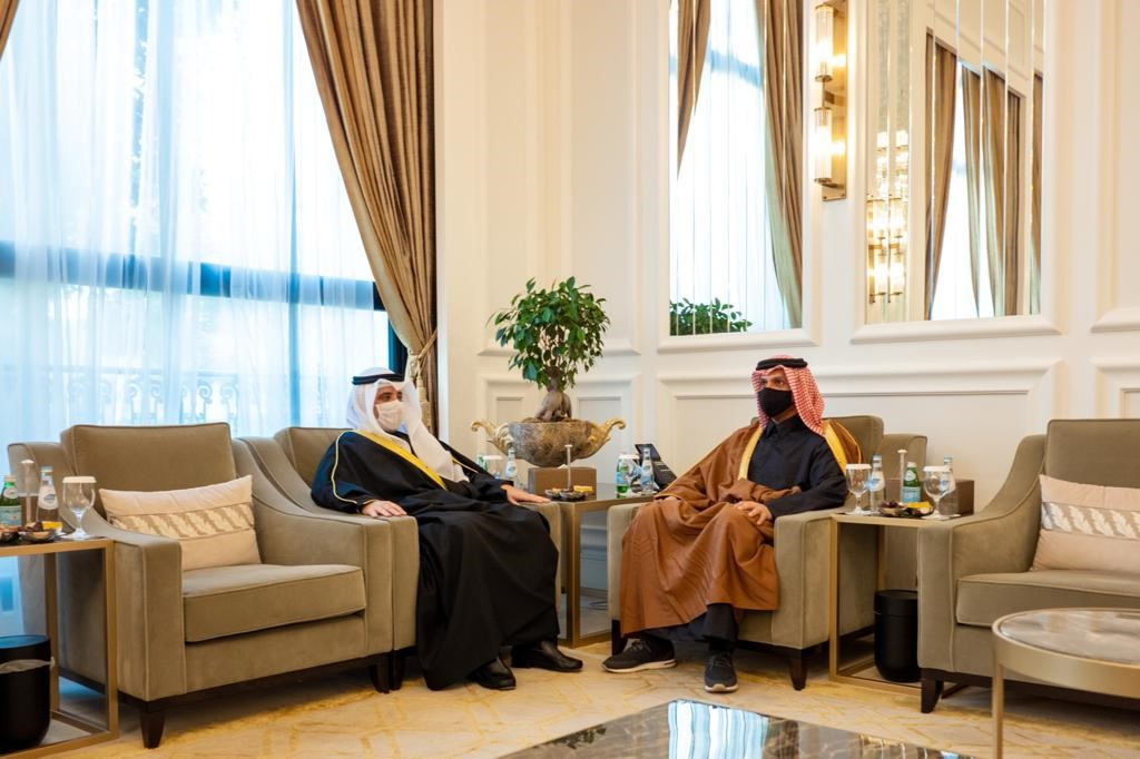 Deputy Prime Minister and Minister of Foreign Affairs Meets Kuwait Foreign Minister