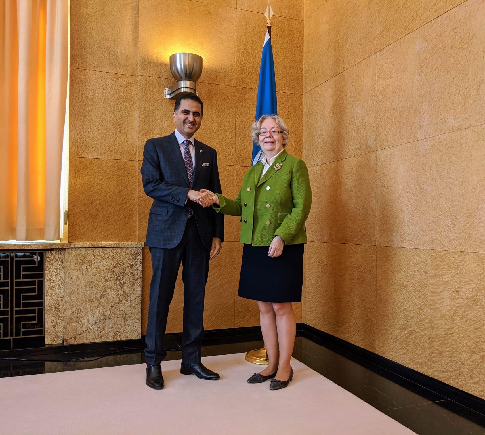 رسالة من نائب رئيس مجلس الوزراء وزير الخارجية إلى المديرة العامة لمكتب الأمم المتحدة بجنيف