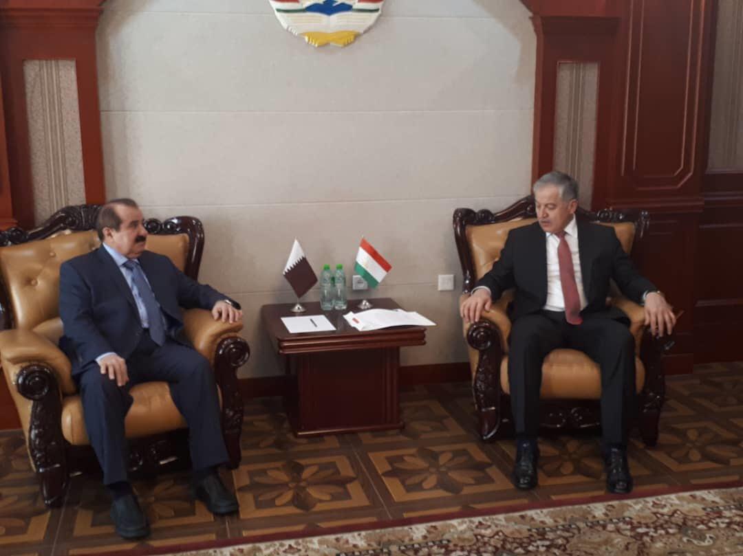 رسالة من نائب رئيس مجلس الوزراء وزير الخارجية إلى وزير خارجية طاجيكستان
