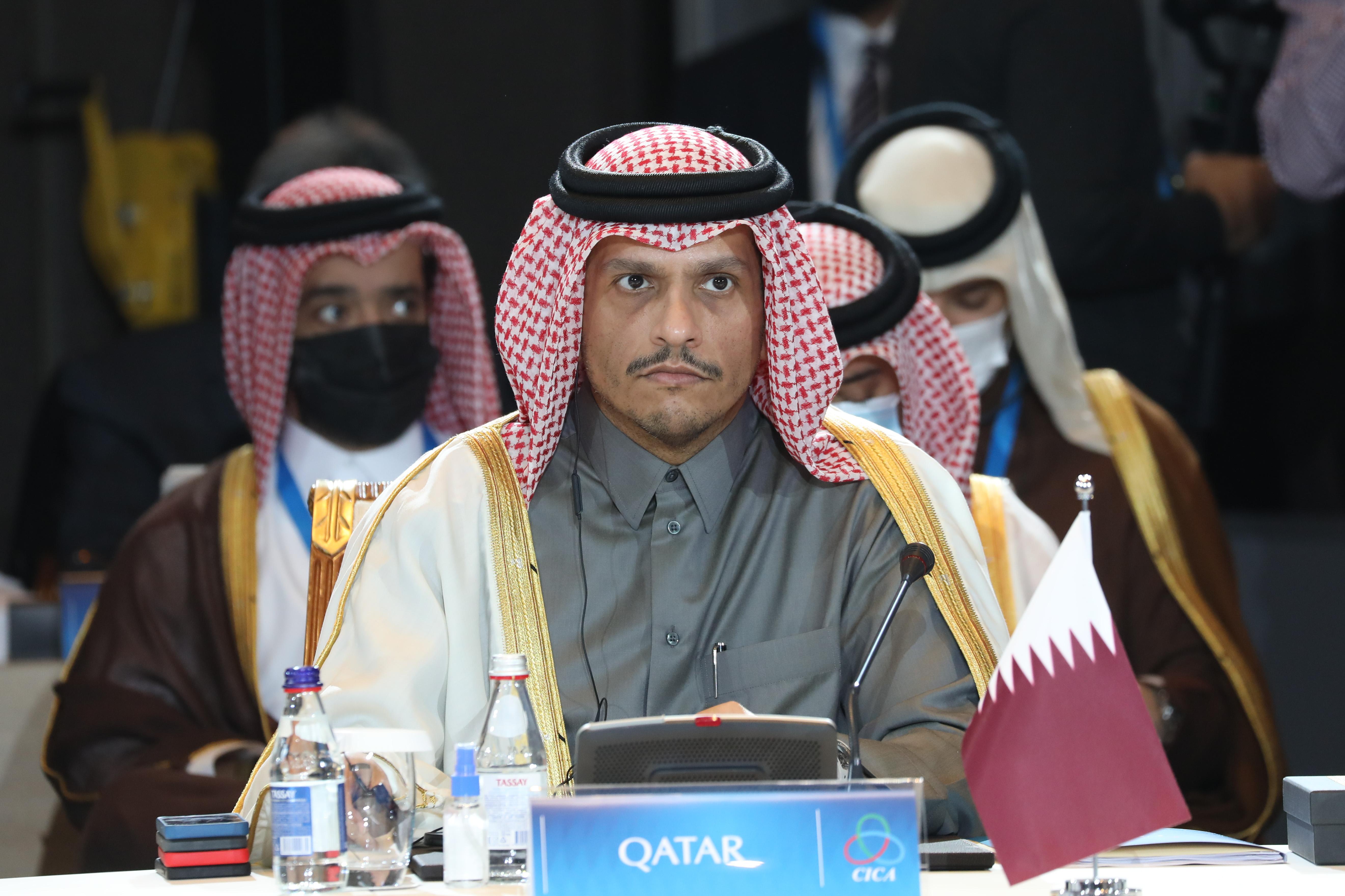 نائب رئيس مجلس الوزراء وزير الخارجية: قطر شريك موثوق به في تحقيق السلام بالمنطقة