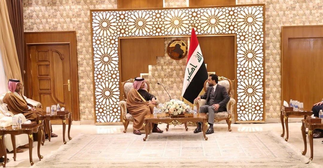 Deputy Prime Minister and Minister of Foreign Affairs Meets Iraq's Speaker of Council of Representatives