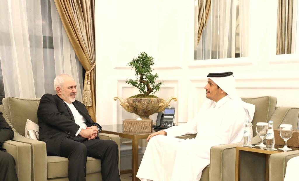 Deputy Prime Minister and Minister of Foreign Affairs Meets Iranian Foreign Minister