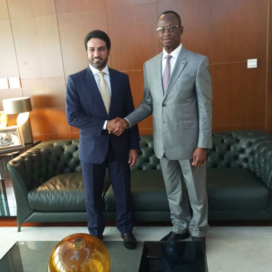 Secretary General of Ivory Coast Foreign Ministry Meets Qatar's Ambassador