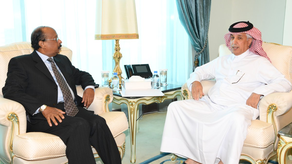 Minister of State for Foreign Affairs Meets Ambassador of Eritrea
