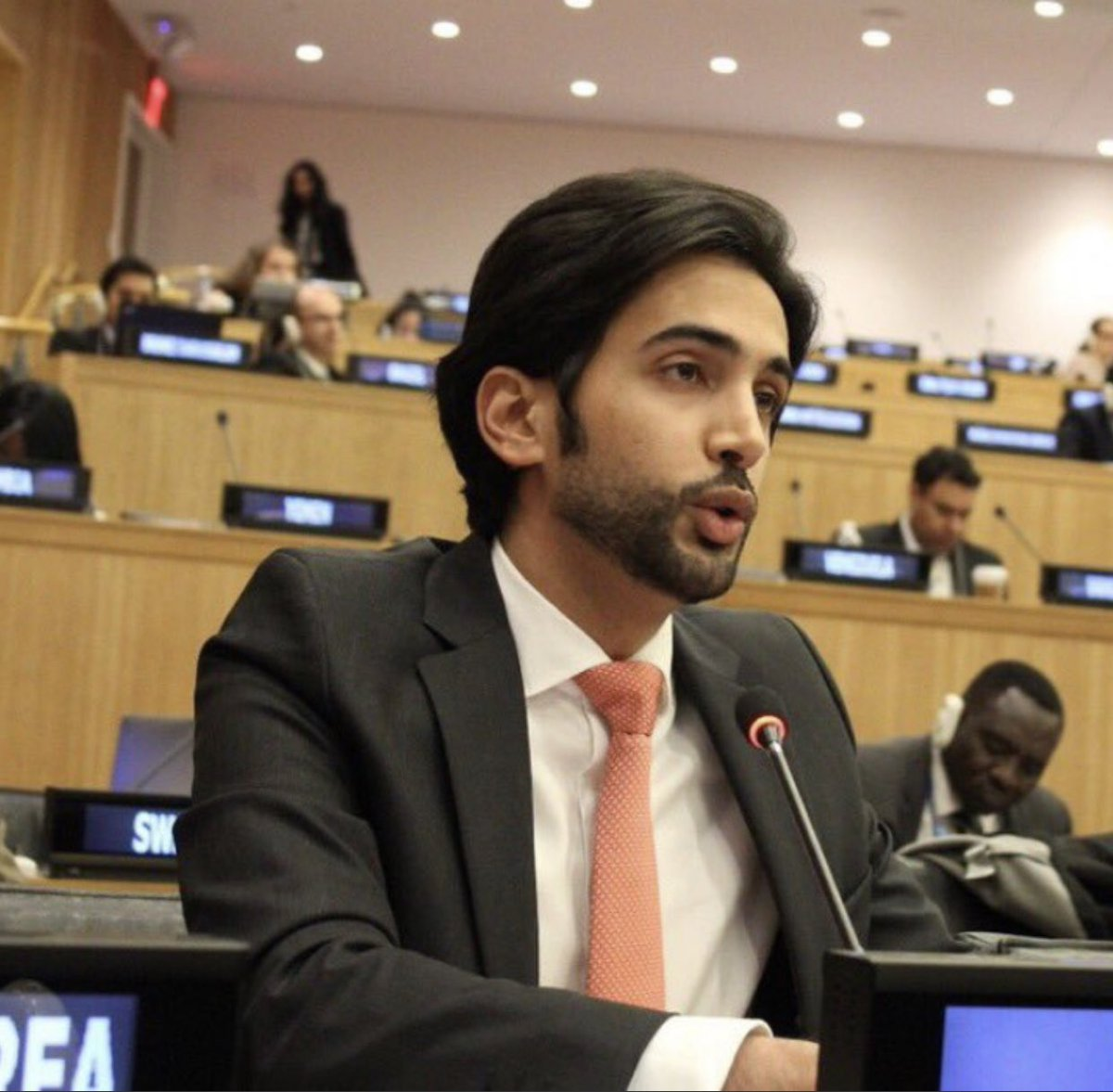 The State of Qatar Vice-Chair of UN General Assembly Second Committee, Rapporteur of Sixth Committee