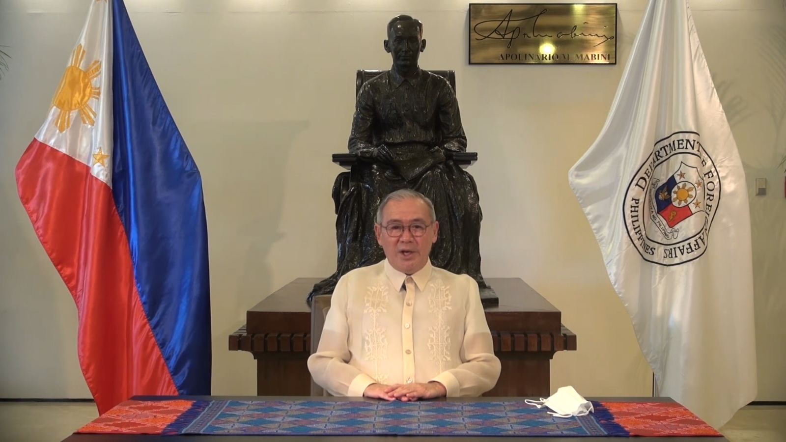 Philippines Secretary of Foreign Affairs Affirms His Country's Keenness on Developing Bilateral Relations with Qatar