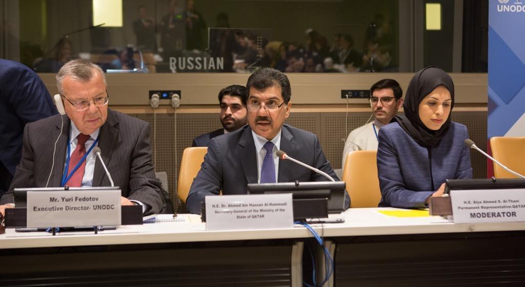 اجتماع بنيويورك يبحث إنجازات البرنامج العالمي لإعلان الدوحة الصادر عن مؤتمر منع الجريمة والعدالة الجنائية