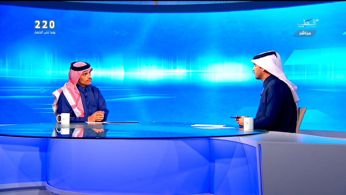 Deputy PM and FM: Investigations Proved Involvement of 2 Siege Countries in QNA Hacking