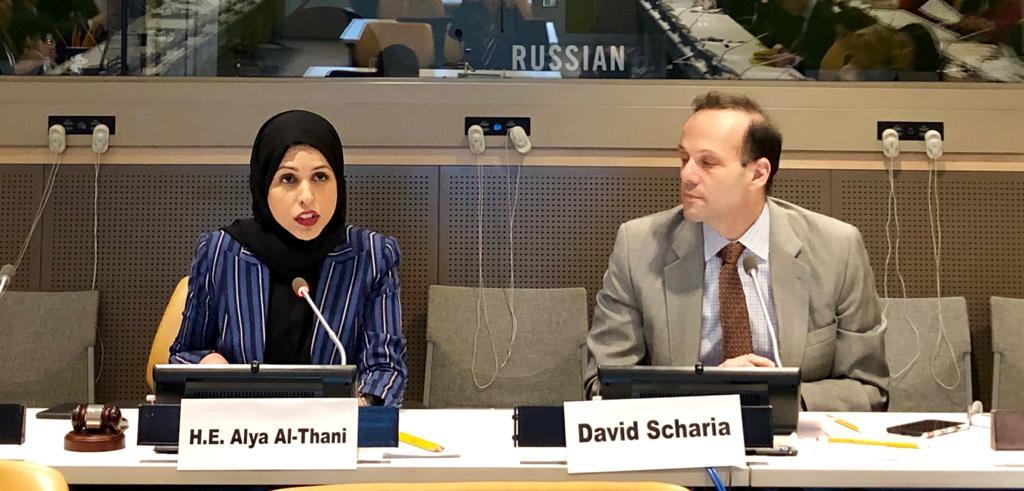 الوفد الدائم لدولة قطر لدى الأمم المتحدة يقدم إحاطة للدول الأعضاء عن منتدى الدوحة حول المقاتلين الأجانب