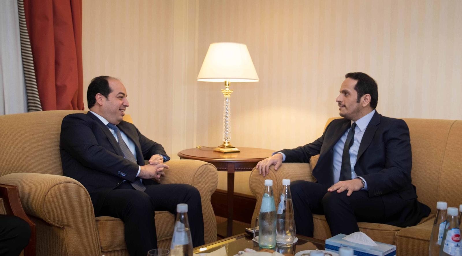 Deputy Prime Minister and Minister of Foreign Affairs Meets Vice-chairman of Libyan GNA's Presidential Council