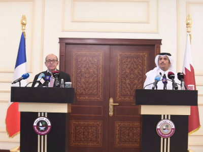 Qatar and France Emphasize Joint Action to Combat Terrorism and Its Financing