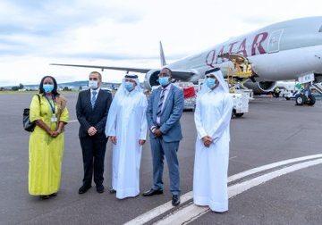 دولة قطر ترسل مساعدات طبية عاجلة لأربع دول لدعم جهود مكافحة تفشي وباء كورونا