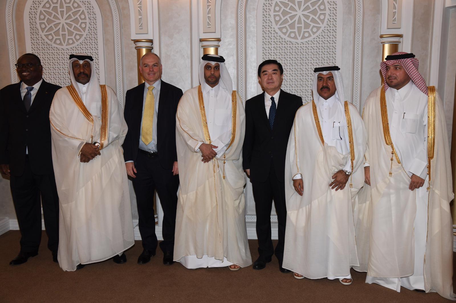 الأمين العام لوزارة الخارجية يقيم حفل وداع لسفراء الصين وأستراليا وبوركينافاسو