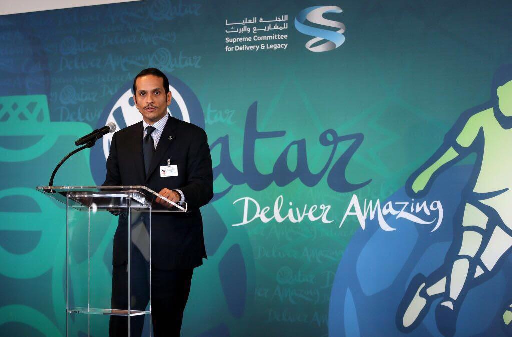 وزير الخارجية: مونديال 2022 فرصة لإبراز الطبيعة المسالمة للعالم العربي