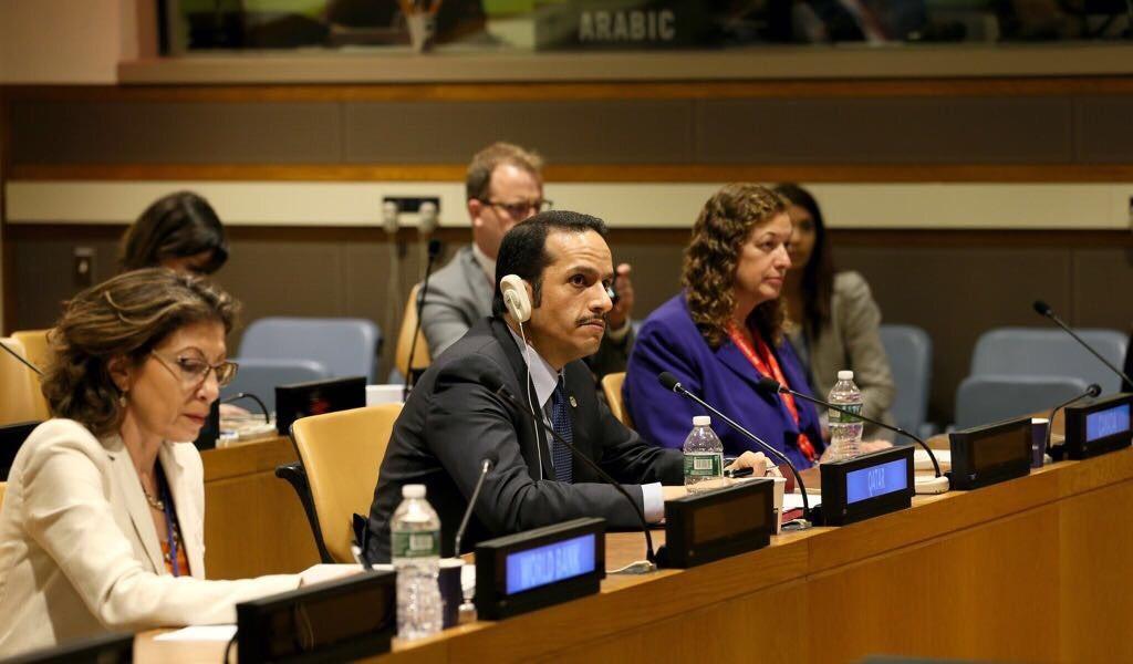 وزير الخارجية: سياسة قطر الاستباقية في محاربة الإرهاب تعالج الجذور الاجتماعية للظاهرة المقيتة