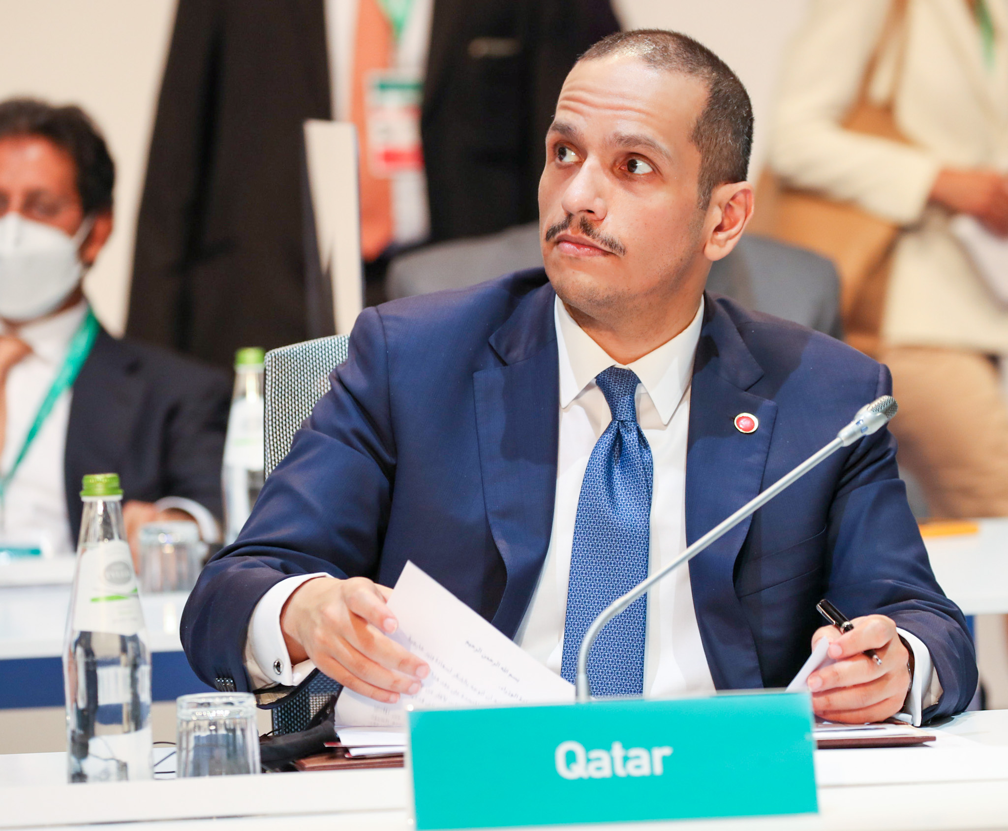 Qatar Underlines Firm Support for International Efforts to Reach Political Solution to Syrian Crisis