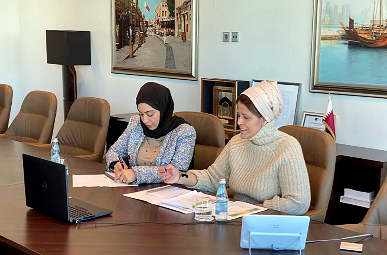 سفيرة قطر لدى السويد تنظم لقاء حول دور المرأة في التصدي لجائحة /كوفيد-19/