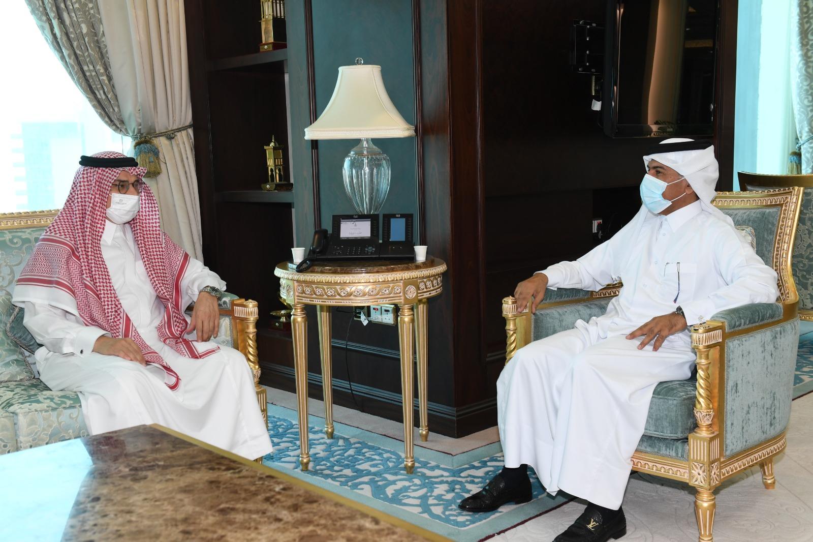 الأمين العام لوزارة الخارجية يجتمع مع السفير السعودي