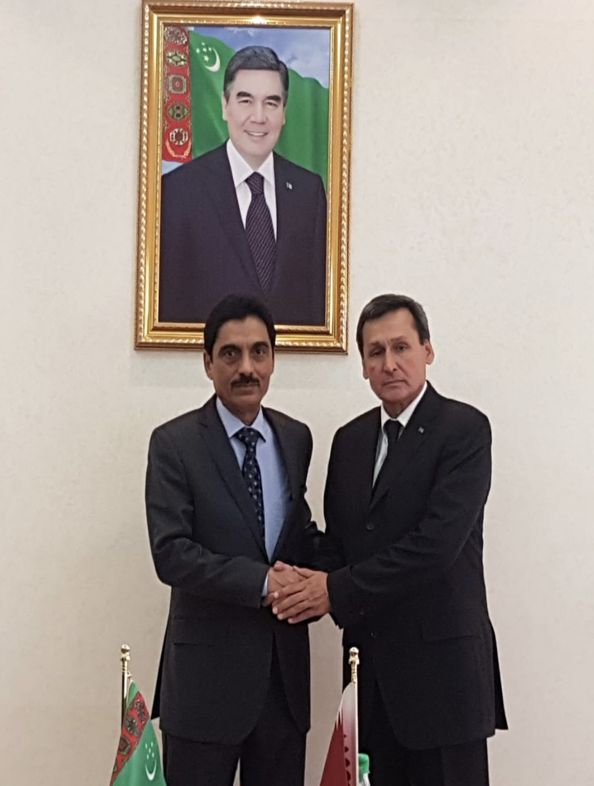 Deputy Prime Minister and Minister of Foreign Affairs of Turkmenistan Meets Qatari Ambassador