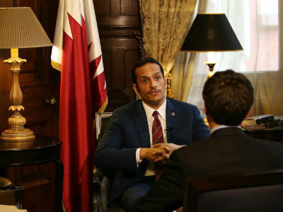 Foreign Minister : Qatar Focuses on Solving Humanitarian Problems of Illegal Siege