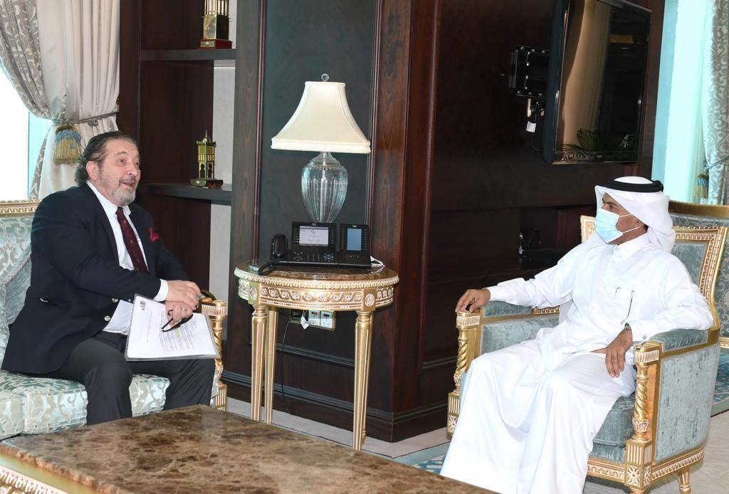 الأمين العام لوزارة الخارجية يجتمع مع سفير البوسنة والهرسك