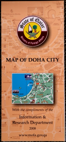 Map of Doha City
