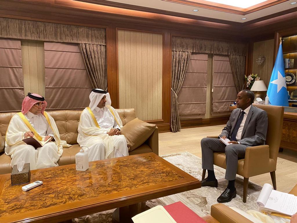 رئيس مجلس الوزراء الصومالي يجتمع مع المبعوث الخاص لوزير الخارجية