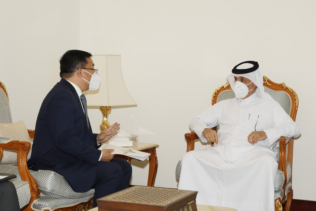 Minister of State for Foreign Affairs Meets Chinese Ambassador