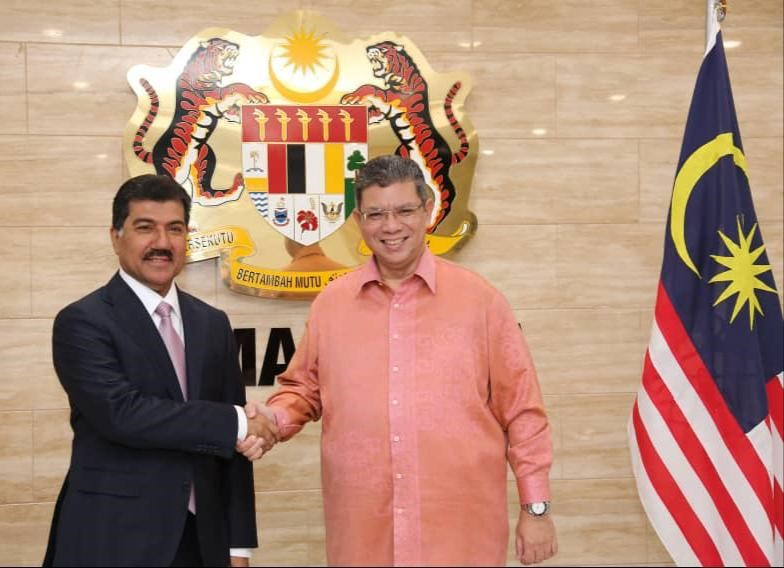 Malaysian Foreign Minister Meets Secretary General of Ministry of Foreign Affairs