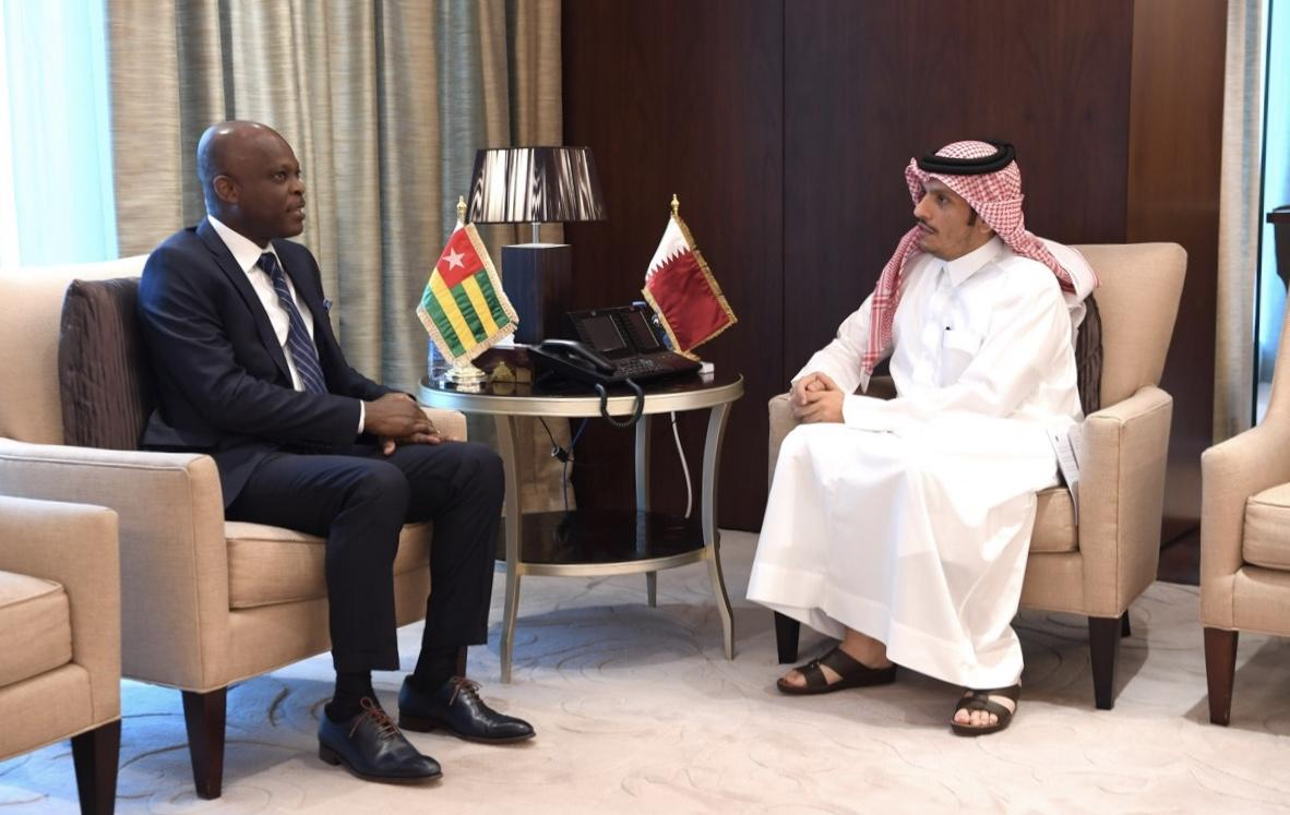Deputy Prime Minister and Foreign Minister Meets Foreign Minister of Togo