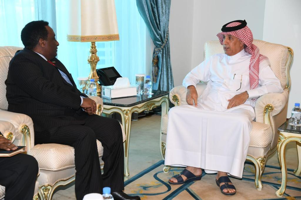 Minister of State for Foreign Affairs Meets Outgoing Ambassador of Ethiopia