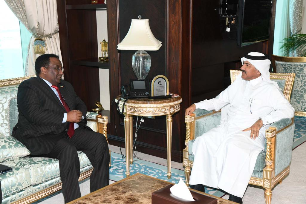 Secretary General of Ministry of Foreign Affairs Meets Ethiopian Ambassador