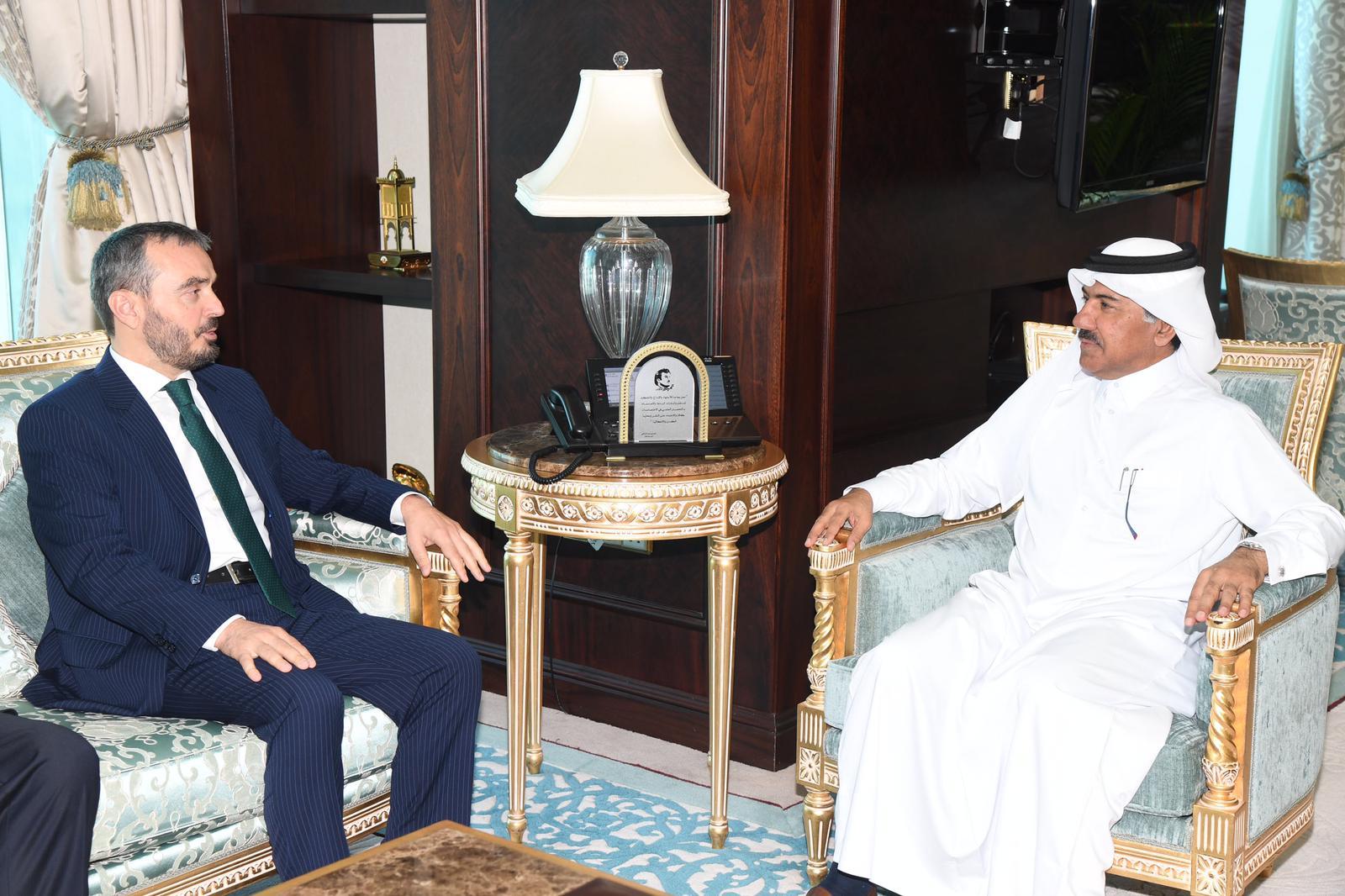 الأمين العام لوزارة الخارجية يجتمع مع سفير كوسوفو