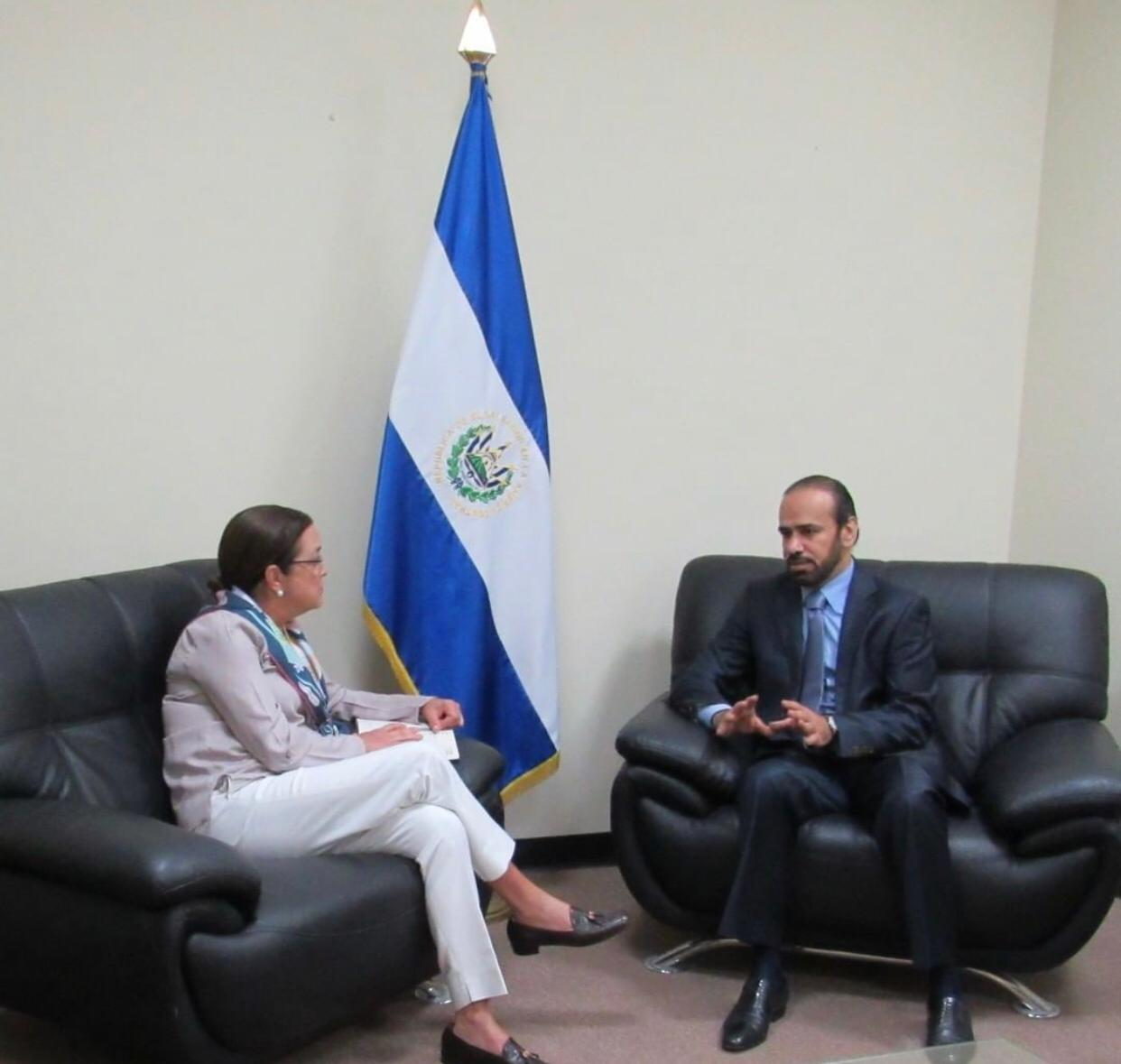 Deputy Prime Minister and Minister of Foreign Affairs Sends Message to El Salvador FM