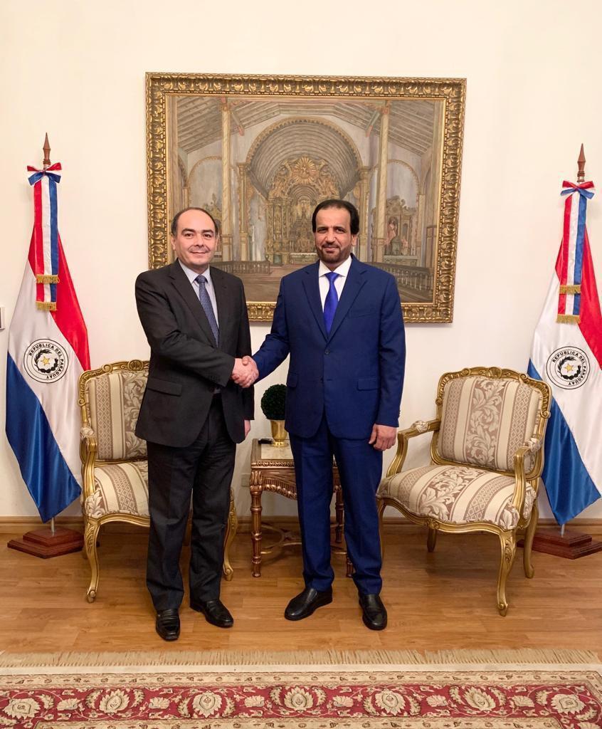 رسالة من نائب رئيس مجلس الوزراء وزير الخارجية إلى وزير خارجية الباراغواي