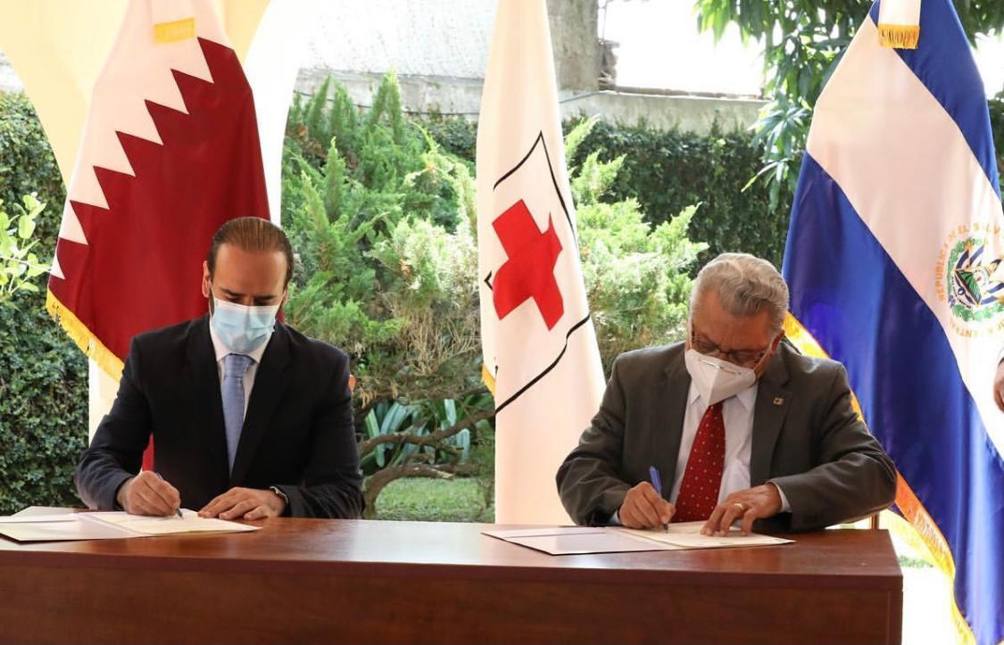 Embassy of Qatar Delivers Financial Aid to Salvadoran Red Cross Society
