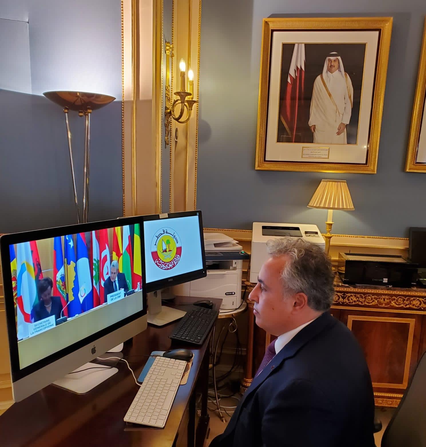 """دولة قطر تشارك في الدورة """"37"""" للمؤتمر الوزاري للمنظمة الدولية للفرنكوفونية"""
