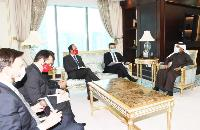 Secretary General of the Ministry of Foreign Affairs Meets Delegation from Republic of Chile
