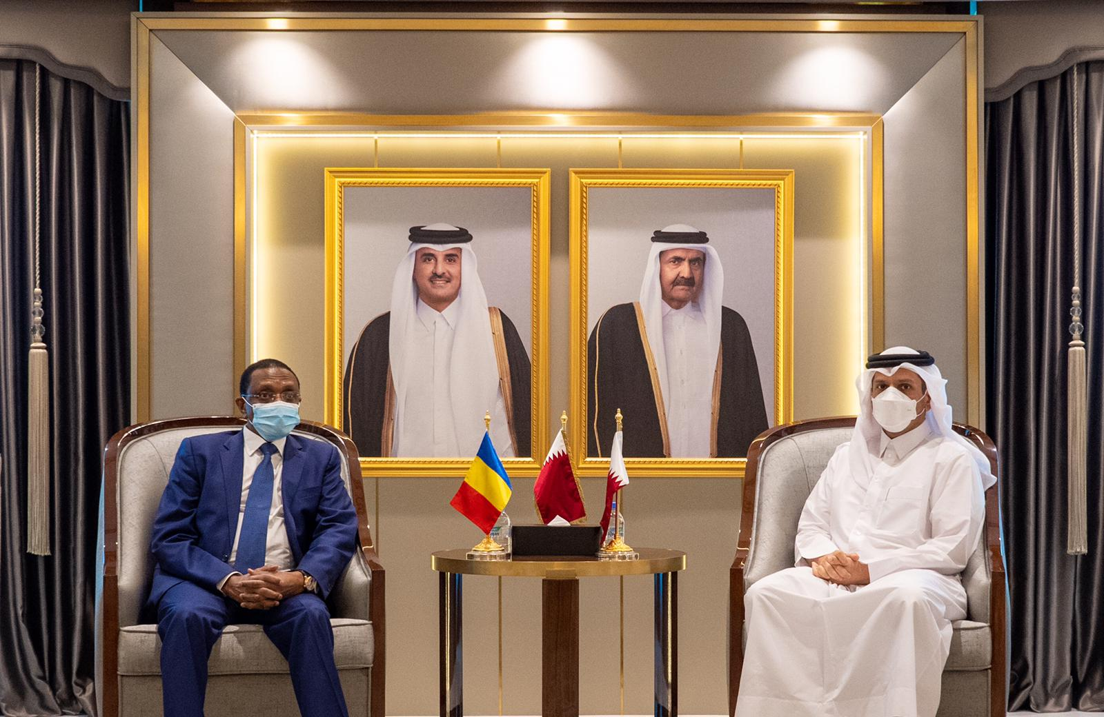 Deputy Prime Minister and Minister of Foreign Affairs Meets Minister of Foreign Affairs of Chad