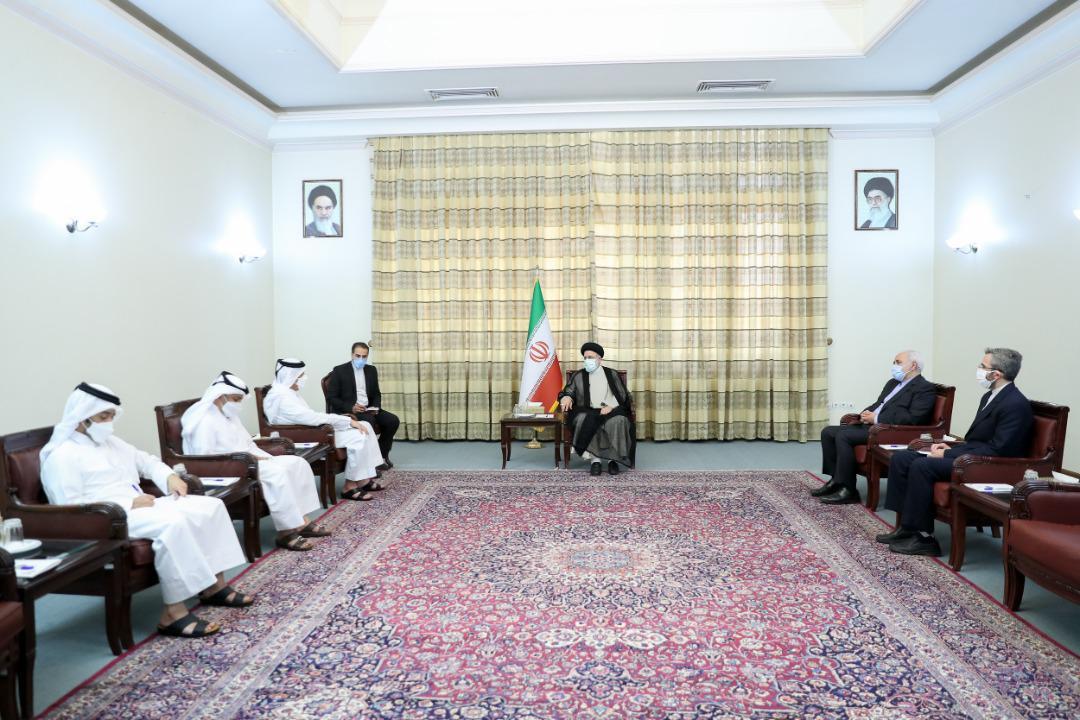 الرئيس الإيراني المنتخب يستقبل نائب رئيس مجلس الوزراء وزير الخارجية