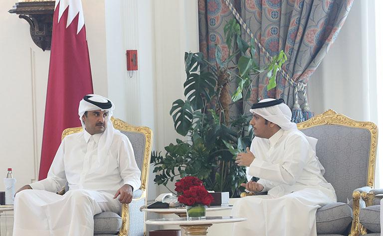 سمو الأمير يستقبل رؤساء البعثات الدبلوماسية في الخارج