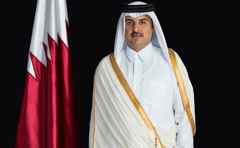 HH the Emir Receives Credentials of Seven New Ambassadors