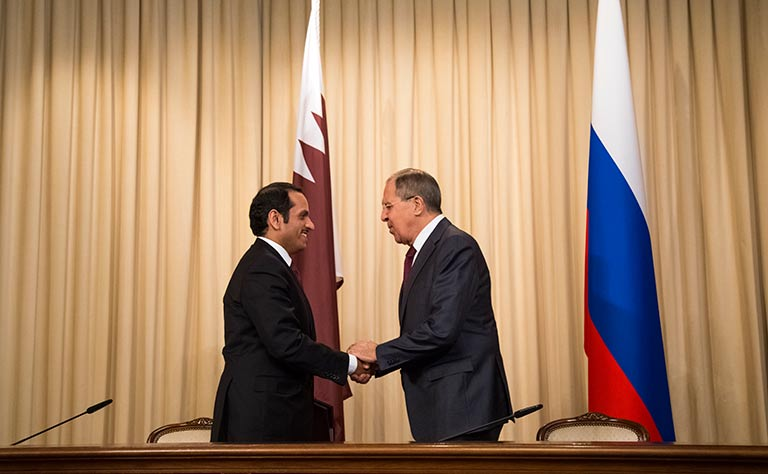 اتفاق قطري - روسي على تحقيق مستقل وموضوعي في الهجوم بالكيميائي على