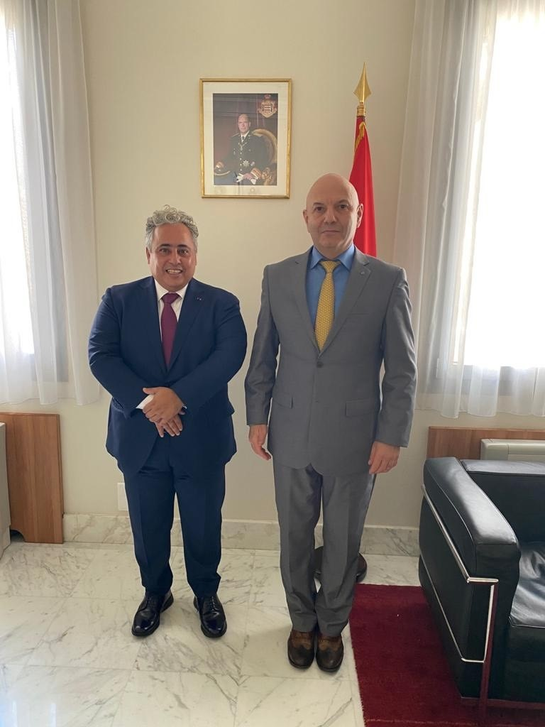 Minister of Foreign Affairs of Principality of Monaco Meets Ambassador of Qatar