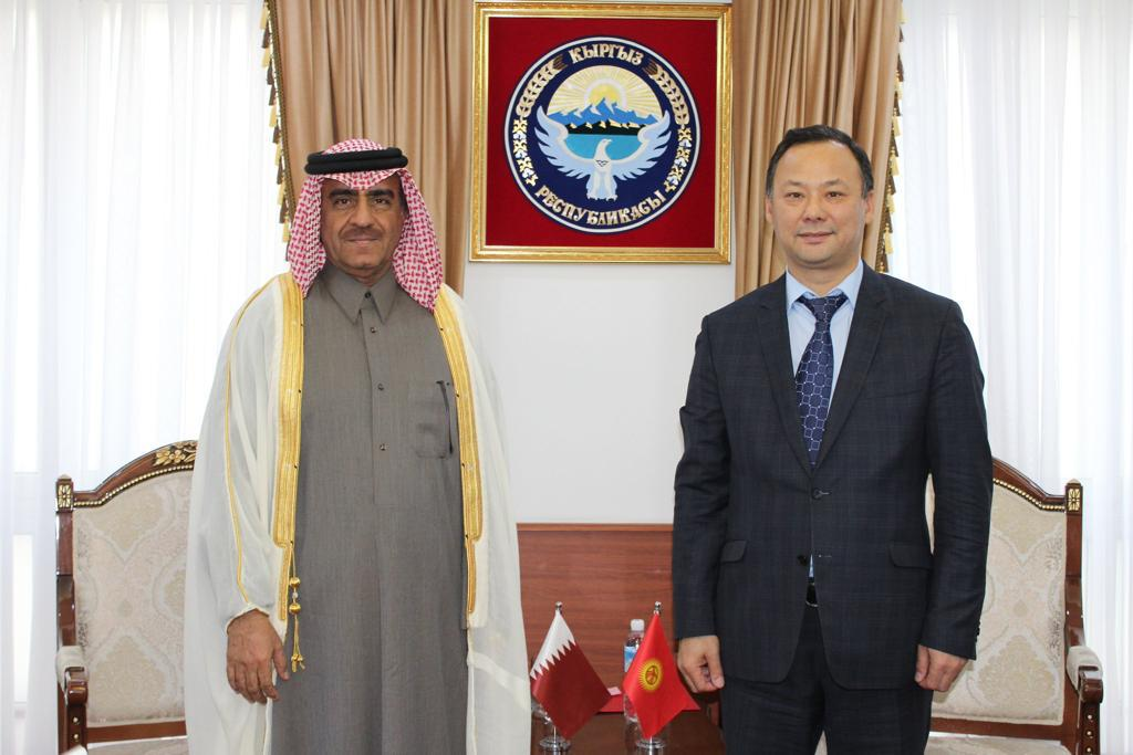 رسالة خطية من نائب رئيس مجلس الوزراء وزير الخارجية لوزير الخارجية القيرغيزي