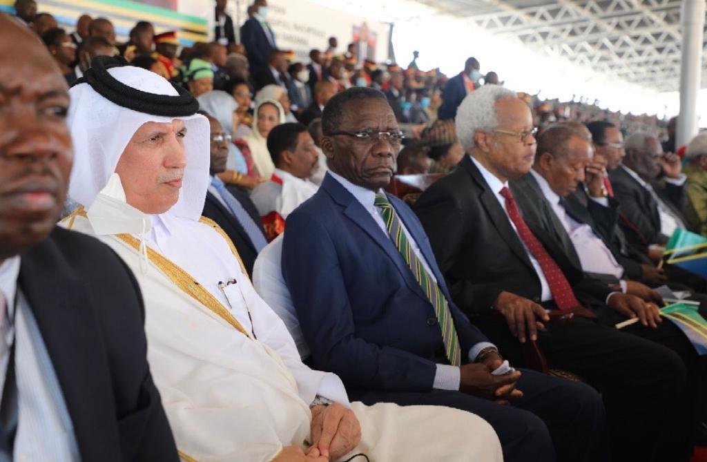 دولة قطر تشارك في حفل تنصيب الرئيس التنزاني