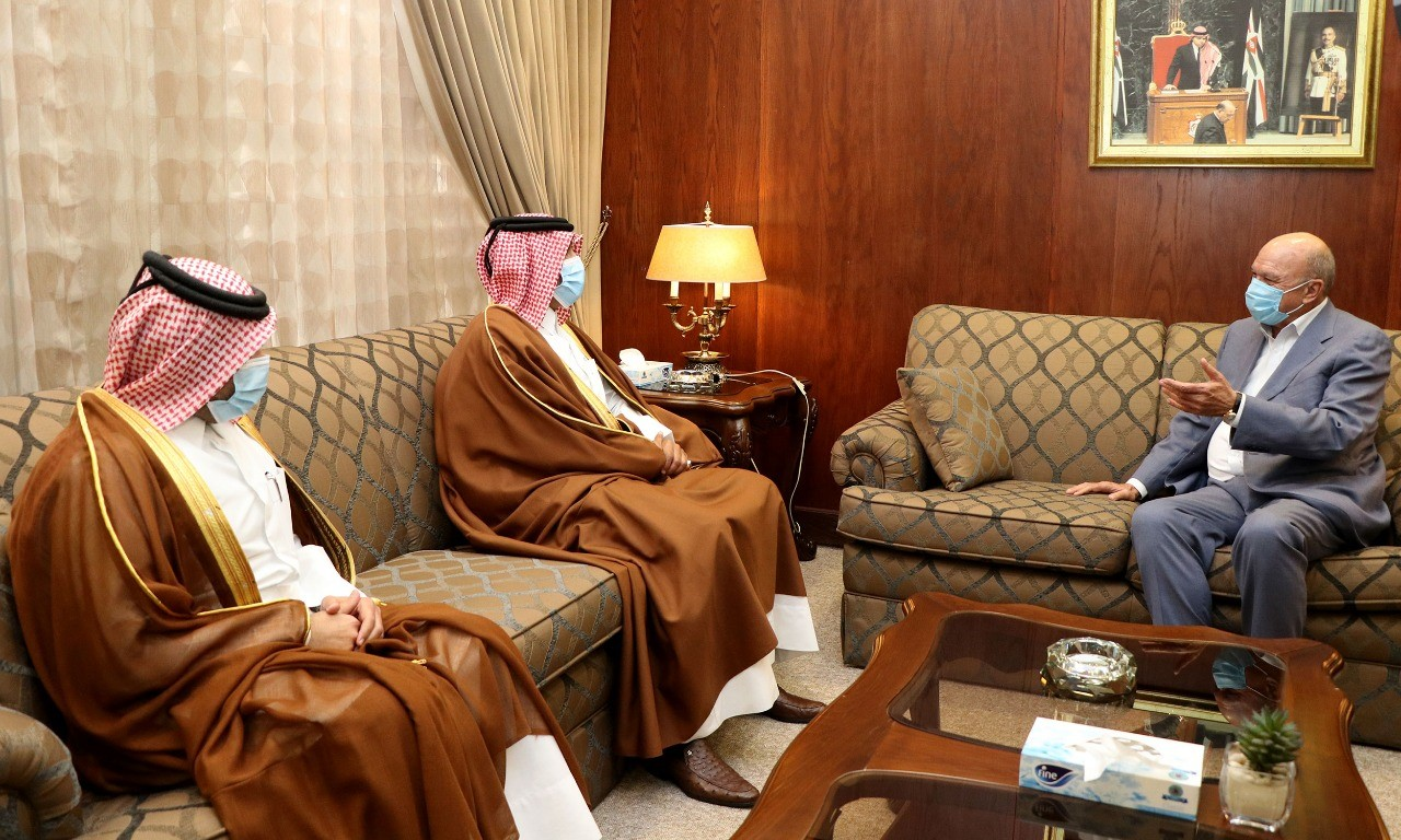 رئيس مجلس الأعيان الأردني يرحب بإعلان سمو الأمير إجراء انتخابات لمجلس الشورى