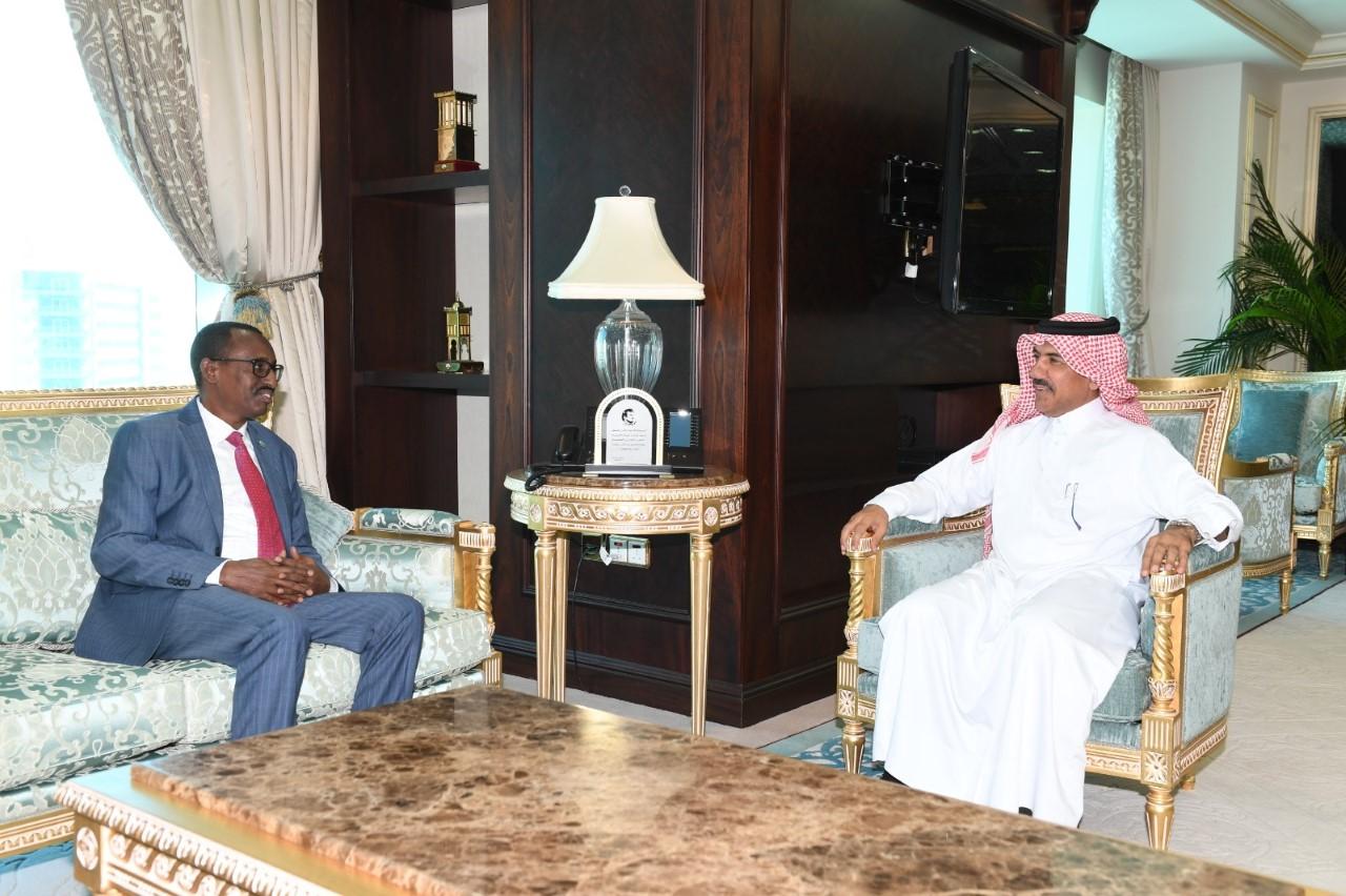 الأمين العام لوزارة الخارجية يجتمع مع سفير جيبوتي