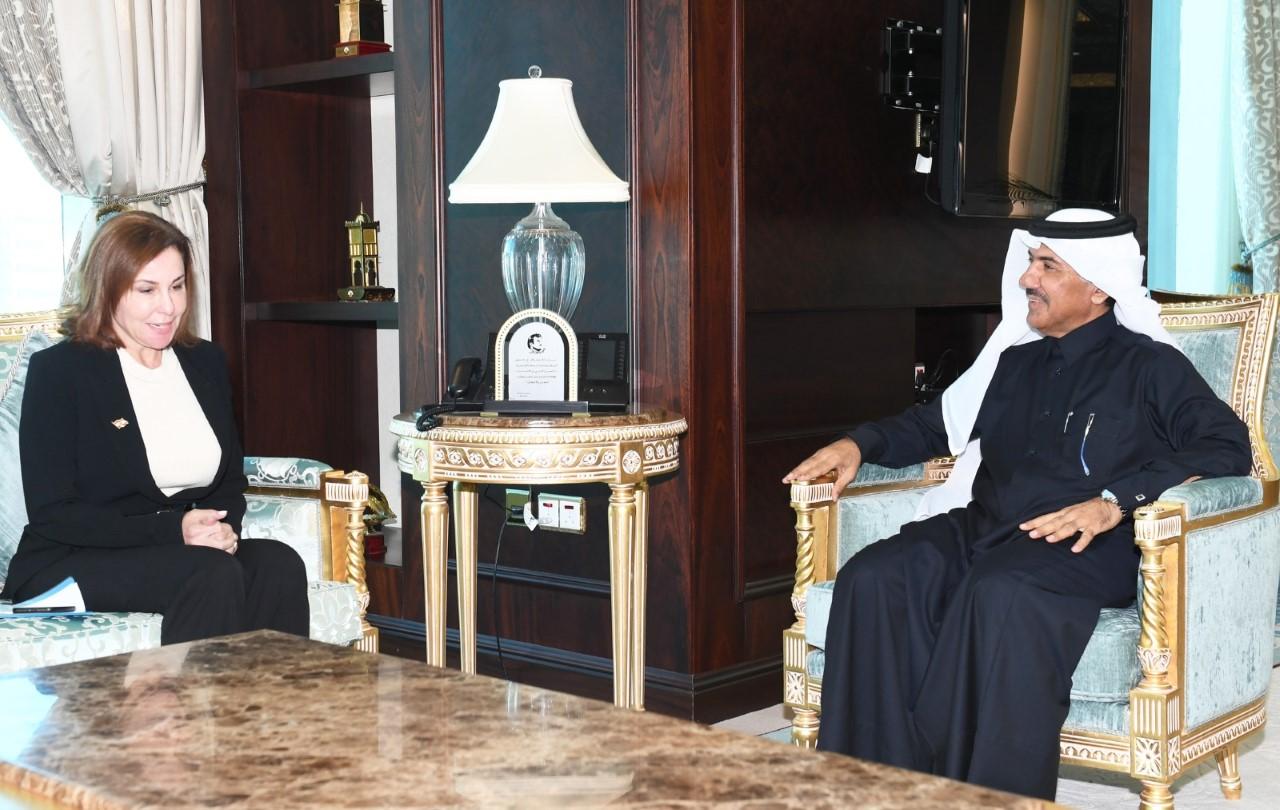 الأمين العام لوزارة الخارجية يجتمع مع القائم بالأعمال بالوكالة في سفارة الجمهورية اللبنانية