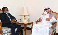 Minister of State for Foreign Affairs Meets Sudanese Foreign Minister-Designate